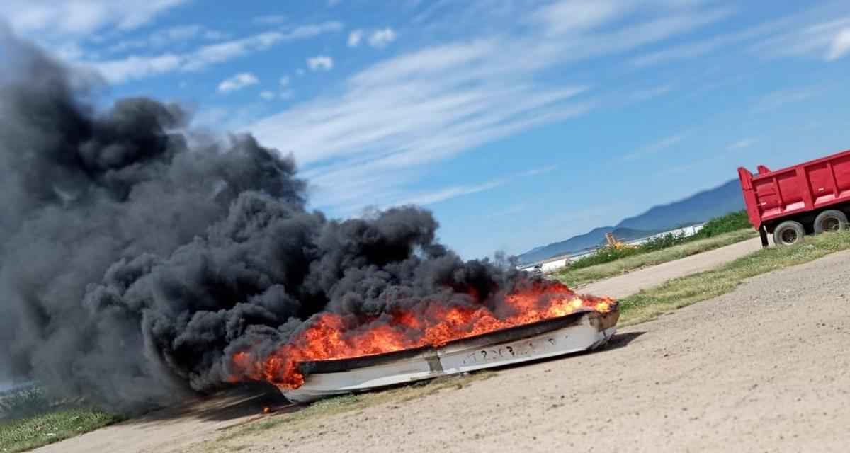 'Arde' conflicto por construcción  de rompeolas en Salina Cruz