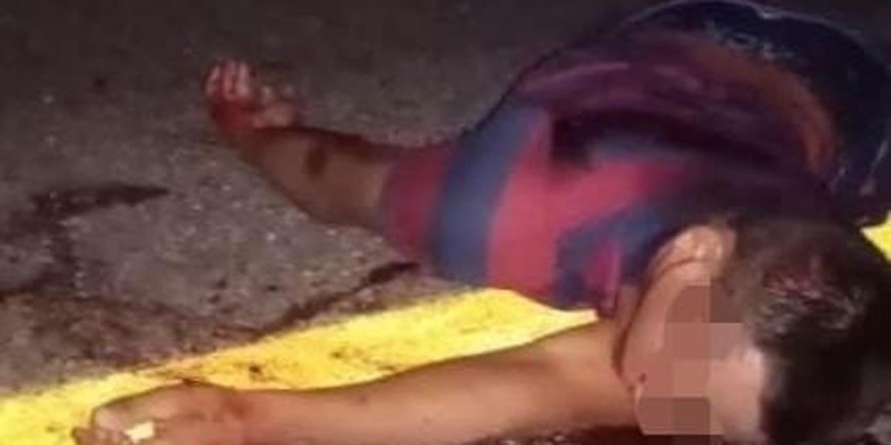Hombre atropellado carretera de Jalapa del Marqués muere casi al instante