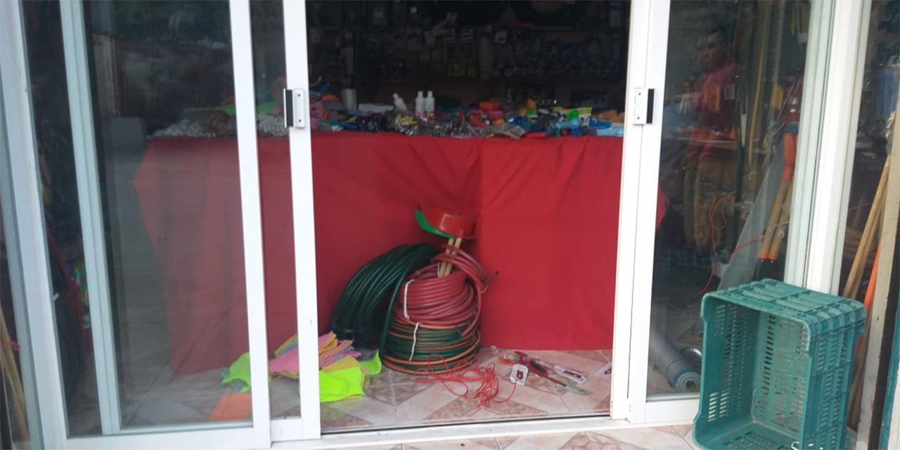Asaltan comercio en Salina Cruz