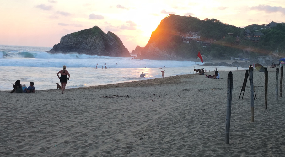 Por rebrote de coronavirus, decretan el cierre de playas de Oaxaca | El Imparcial de Oaxaca