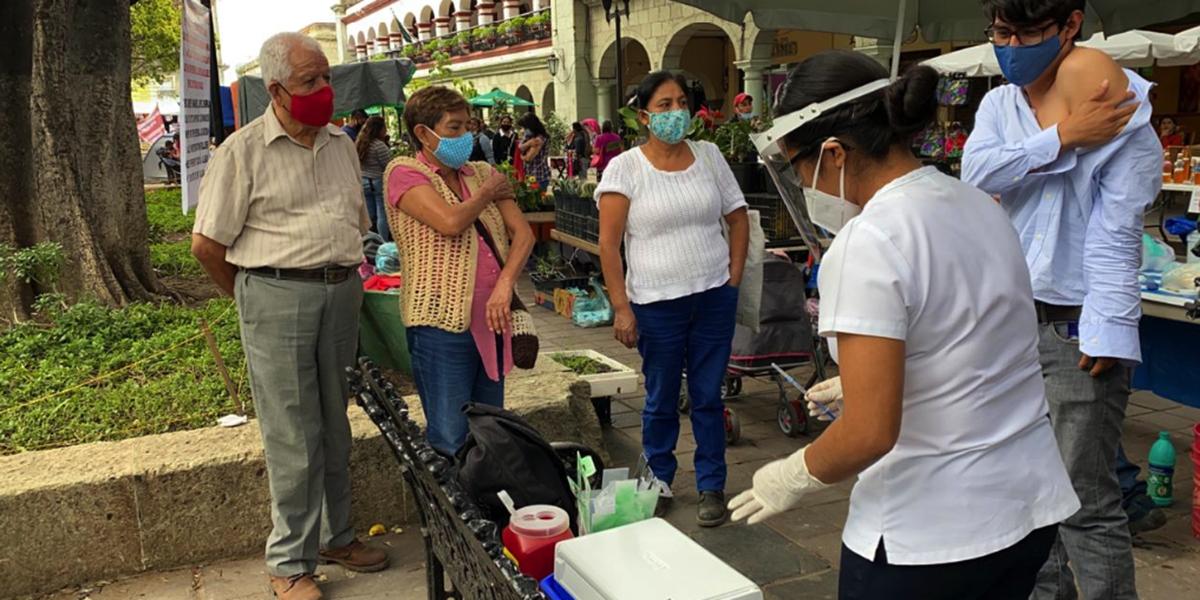 Inicia campaña de vacunación contra la influenza