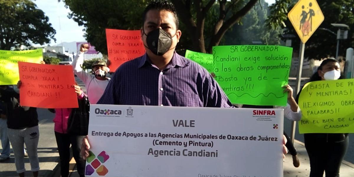 Incumple Sinfra con vecinos de Candiani | El Imparcial de Oaxaca