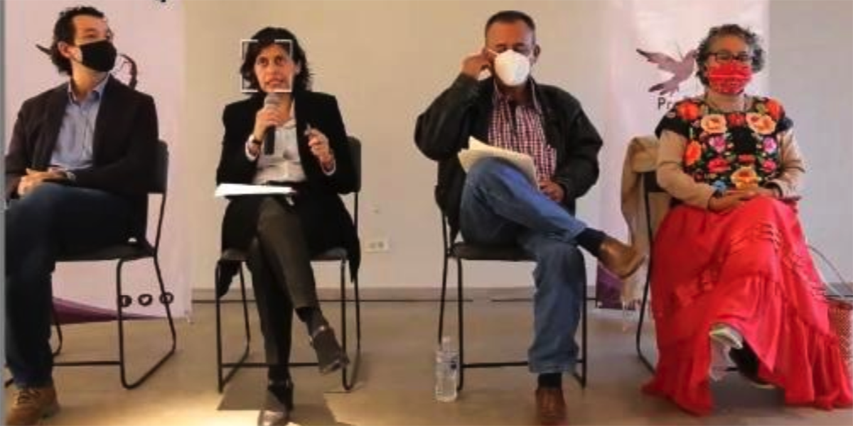 Comuneros de Oaxaca presentan en París denuncia contra eólica francesa