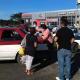Taxistas de Juchitán protestan para exigir pago de seguro de vida