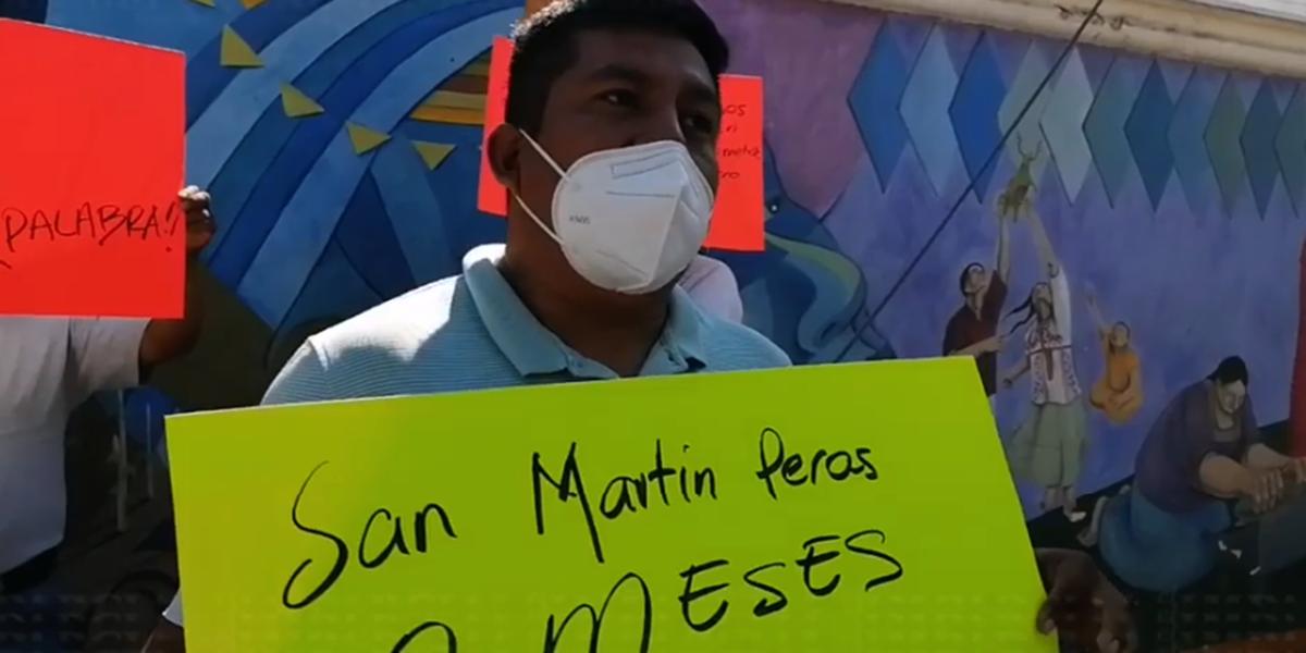 Protestan autoridades de la Mixteca y Cuenca en el INPI | El Imparcial de Oaxaca