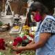 En Xoxocotlán adelantan bienvenida a fieles difuntos