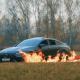 Video: Quema su Mercedes GT635 de tres millones de pesos