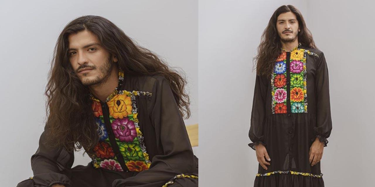 Venden vestido para hombre con bordados de artesanos de Oaxaca | El Imparcial de Oaxaca