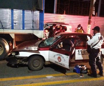 Detienen a taxista por lesiones a su hija en accidente en Xoxocotlán