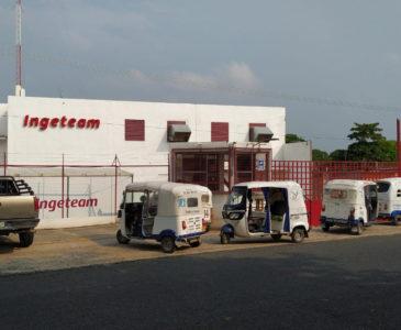 Se manifiestan en oficinas de eólica en Juchitán