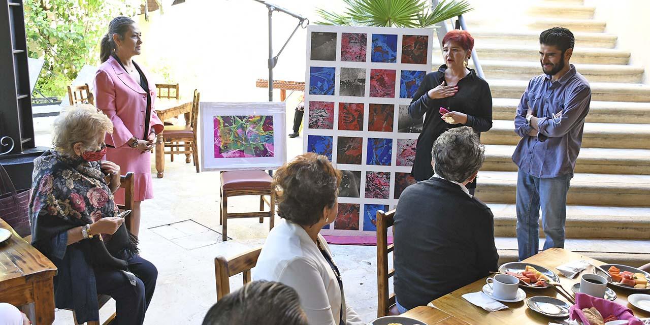 Donan obra plástica para sufragar bacheo en San Felipe | El Imparcial de Oaxaca