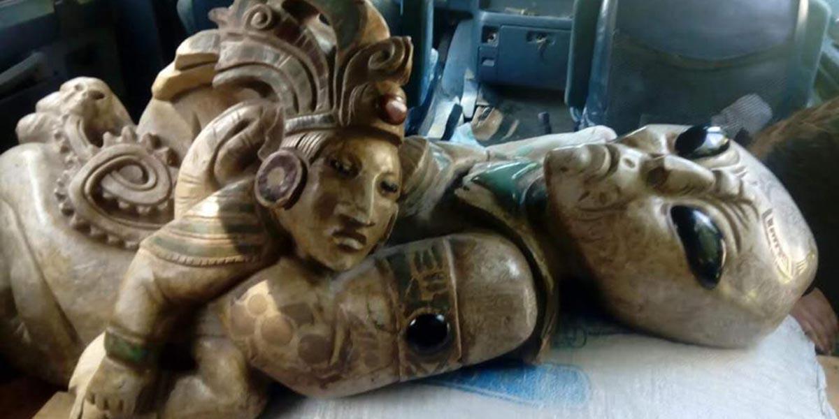 La verdad sobre las figuras de alienígeneas halladas en la construcción del Tren Maya | El Imparcial de Oaxaca