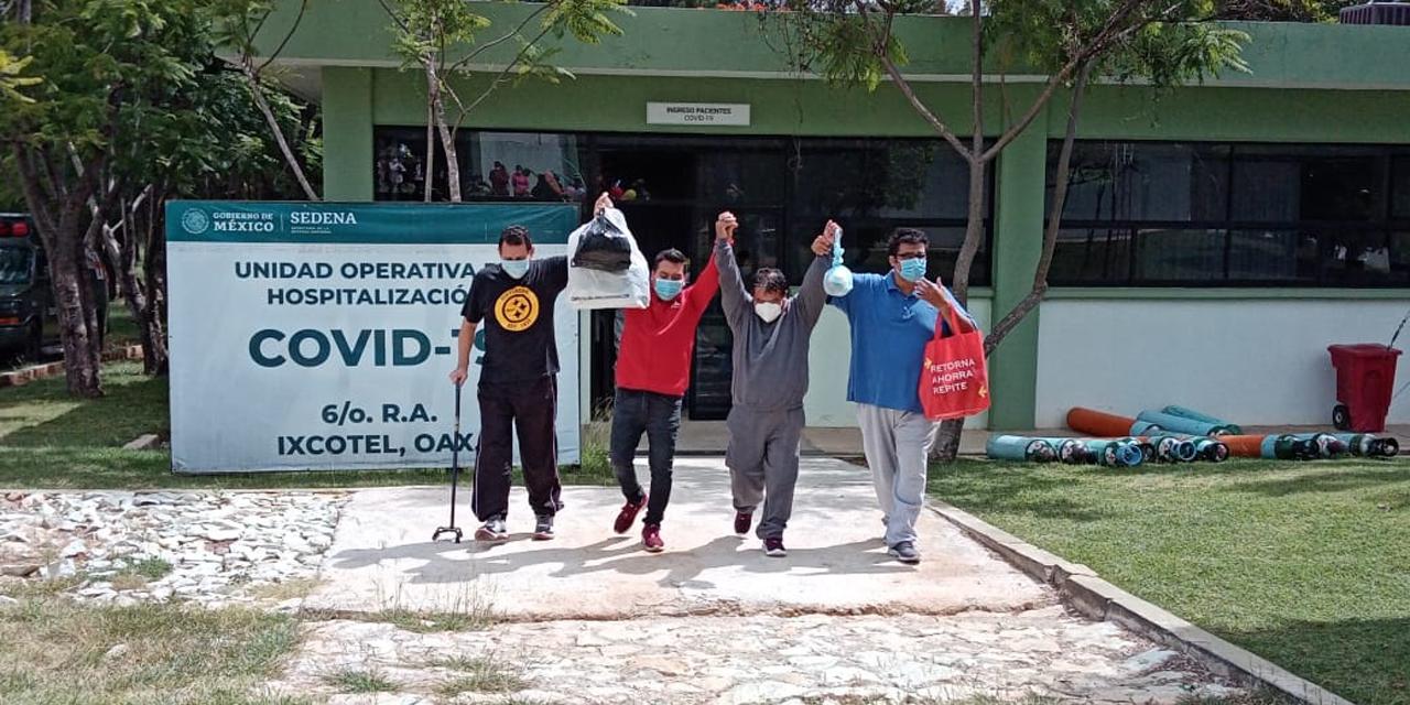 Tras superar Covid-19, agradecen al personal médico militar   El Imparcial de Oaxaca