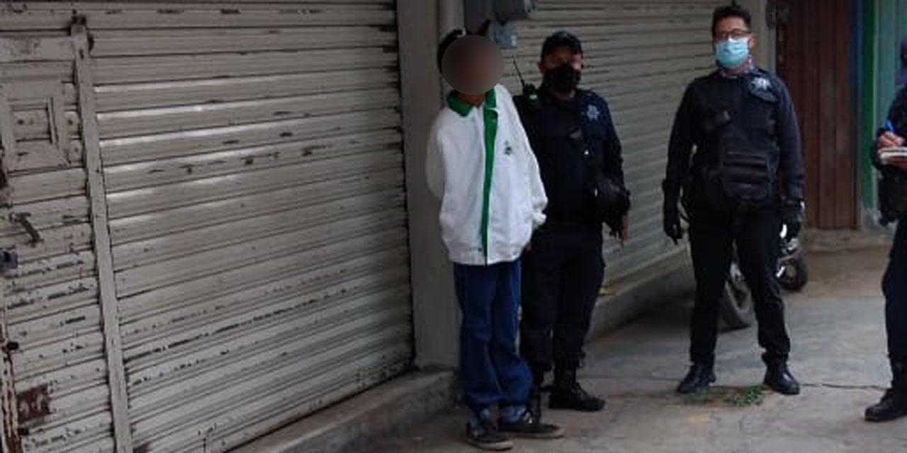 Detienen a presunto ladrón de celulares en el Mercado de Abasto | El Imparcial de Oaxaca