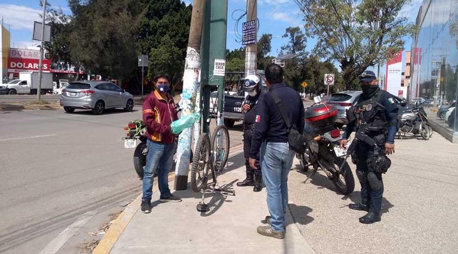Taxista foráneo atropella a ciclista en Xoxocotlán   El Imparcial de Oaxaca