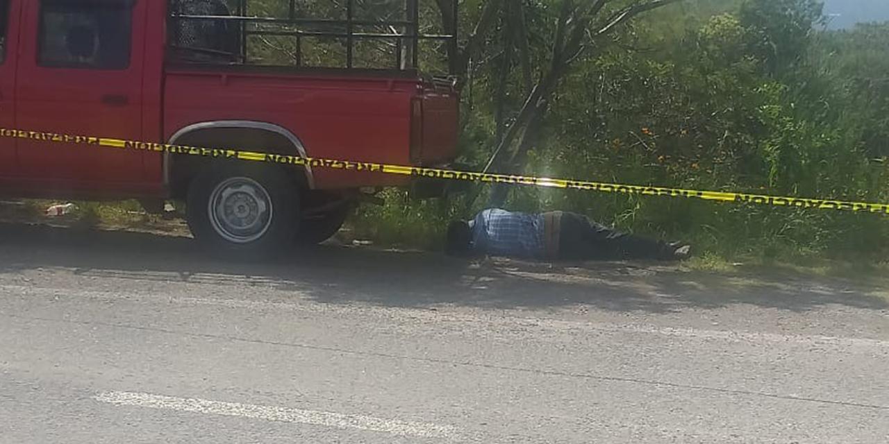 Asesinan a balazos a un hombre en Sola de Vega | El Imparcial de Oaxaca