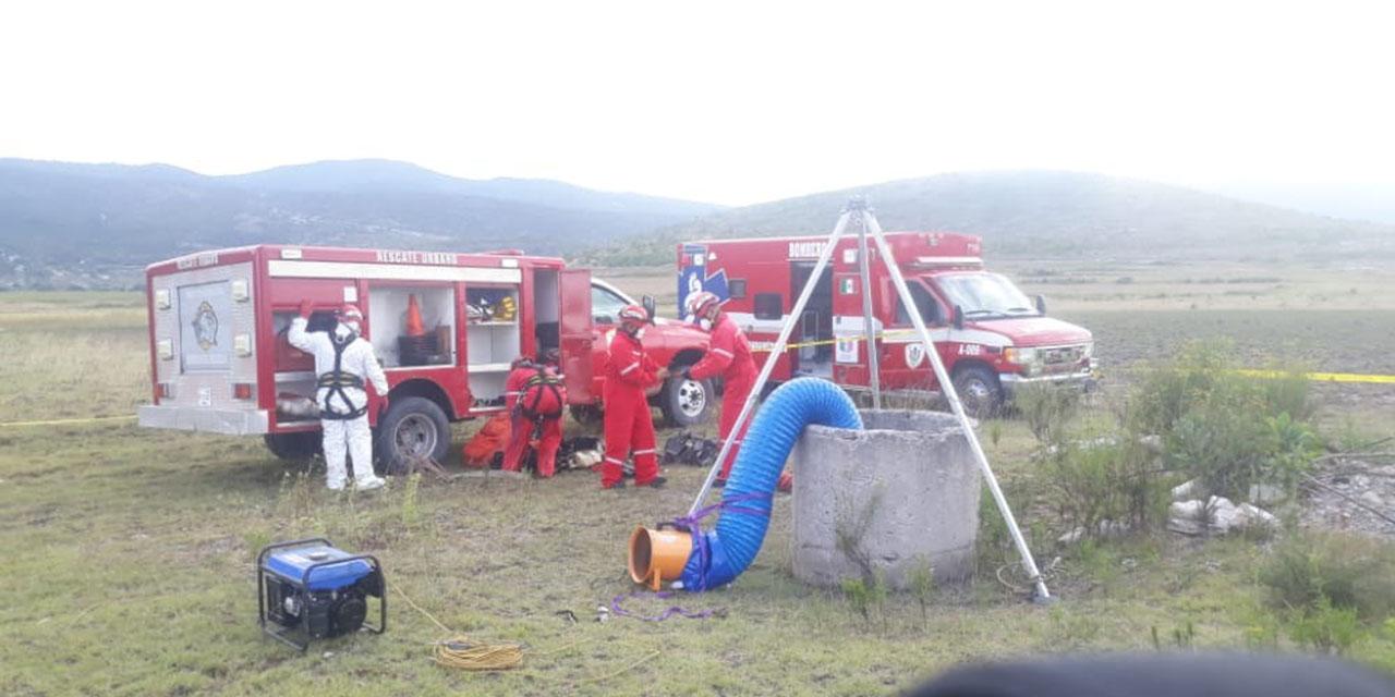 Identifican cadáver hallado en un pozo en Tejupam de la Unión
