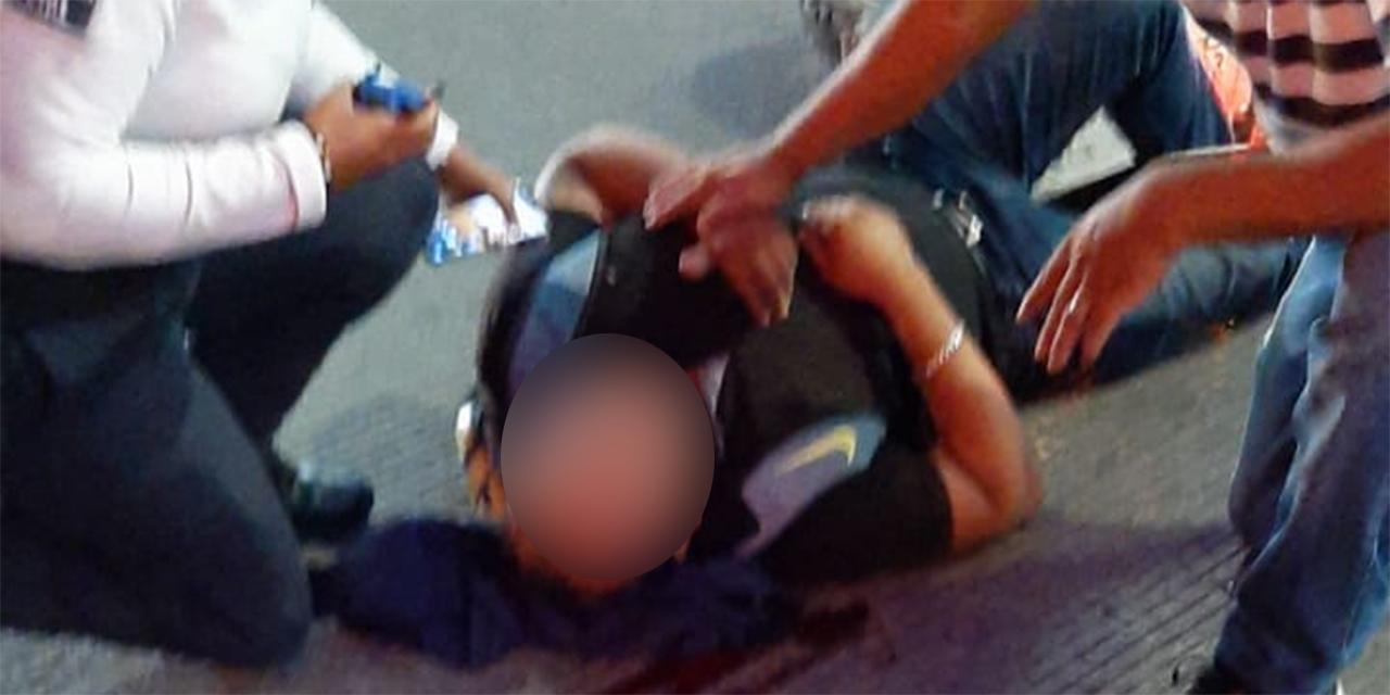 Atropellan a motociclista en la exgarita de Xoxocotlán; se reporta grave | El Imparcial de Oaxaca