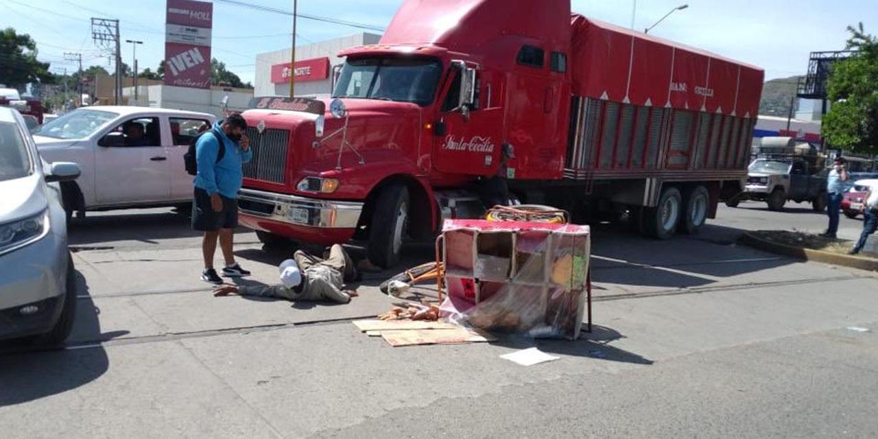 Pagan daños a panadero arrollado en Oaxaca | El Imparcial de Oaxaca