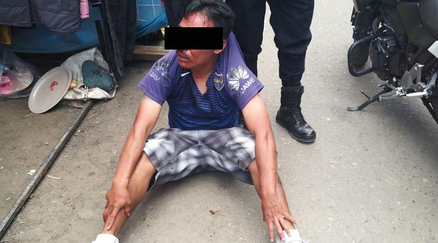 Le dan paliza a ladrón en Las Casas | El Imparcial de Oaxaca