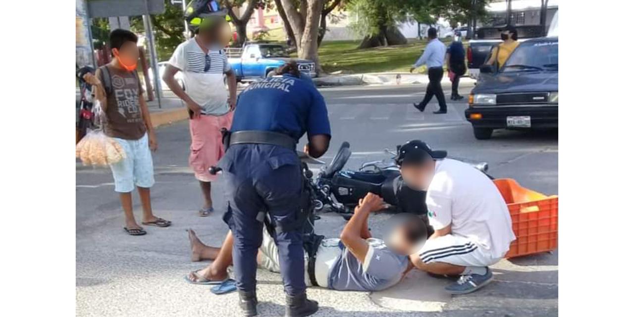 Derrapa motociclista en Santa Cruz Huatulco | El Imparcial de Oaxaca
