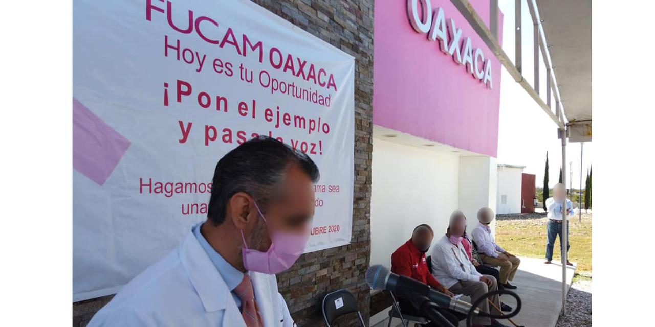 Inaugura FUCAM Oaxaca Sala de quimioterapias