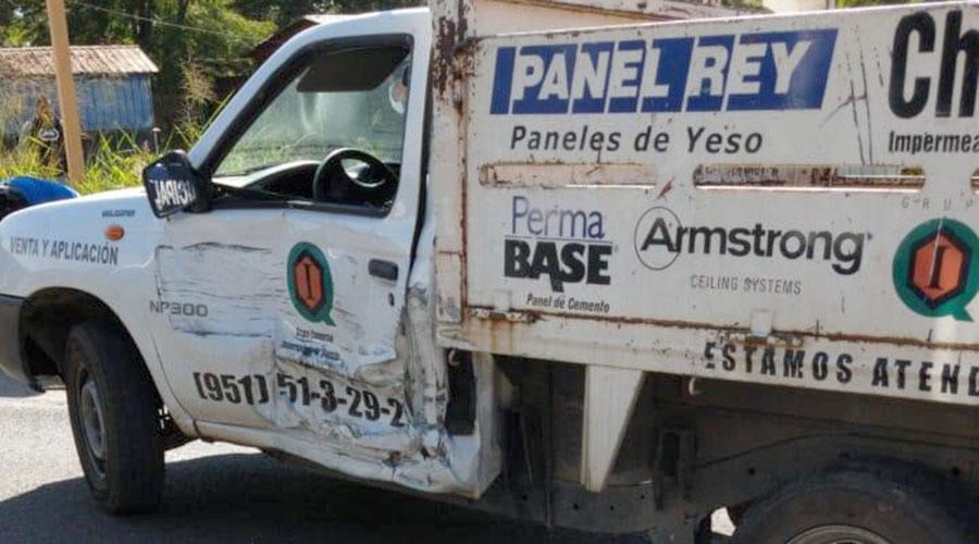 Fuerte choque en la carretera a Guelatao | El Imparcial de Oaxaca
