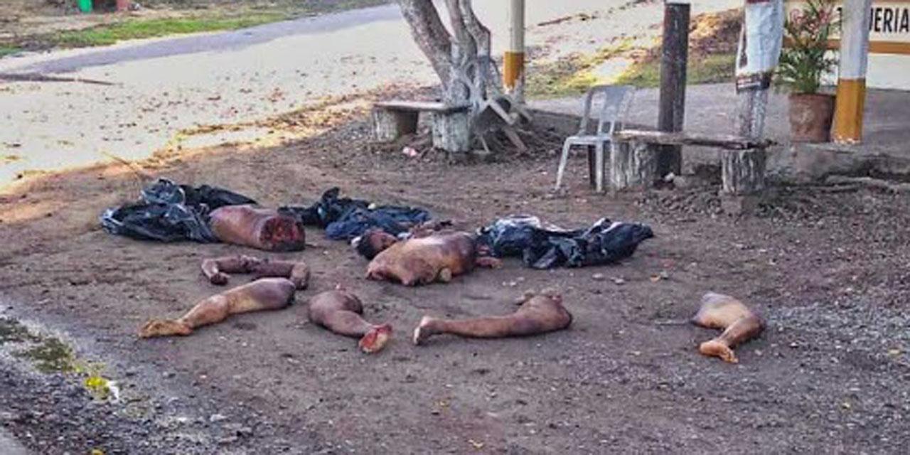 ¡Carnicería humana en La Cuenca!