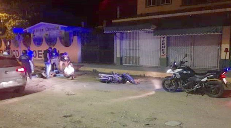 Grave motociclista al derrapar en Huatulco | El Imparcial de Oaxaca
