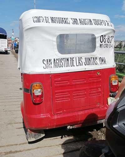 Cae mototaxi fuera de su jurisdicción   El Imparcial de Oaxaca