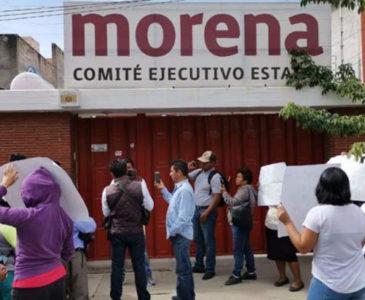 Persiste conflicto interno en Morena