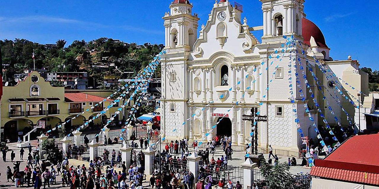 Festejos a la Virgen de  Juquila, por redes sociales