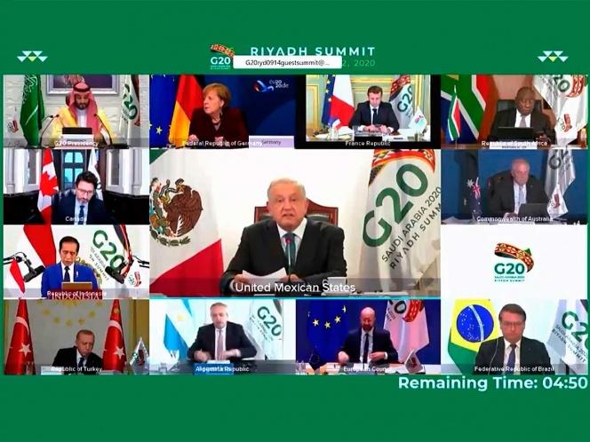 Propone AMLO en G-20 frenar crisis por endeudamiento de países | El Imparcial de Oaxaca