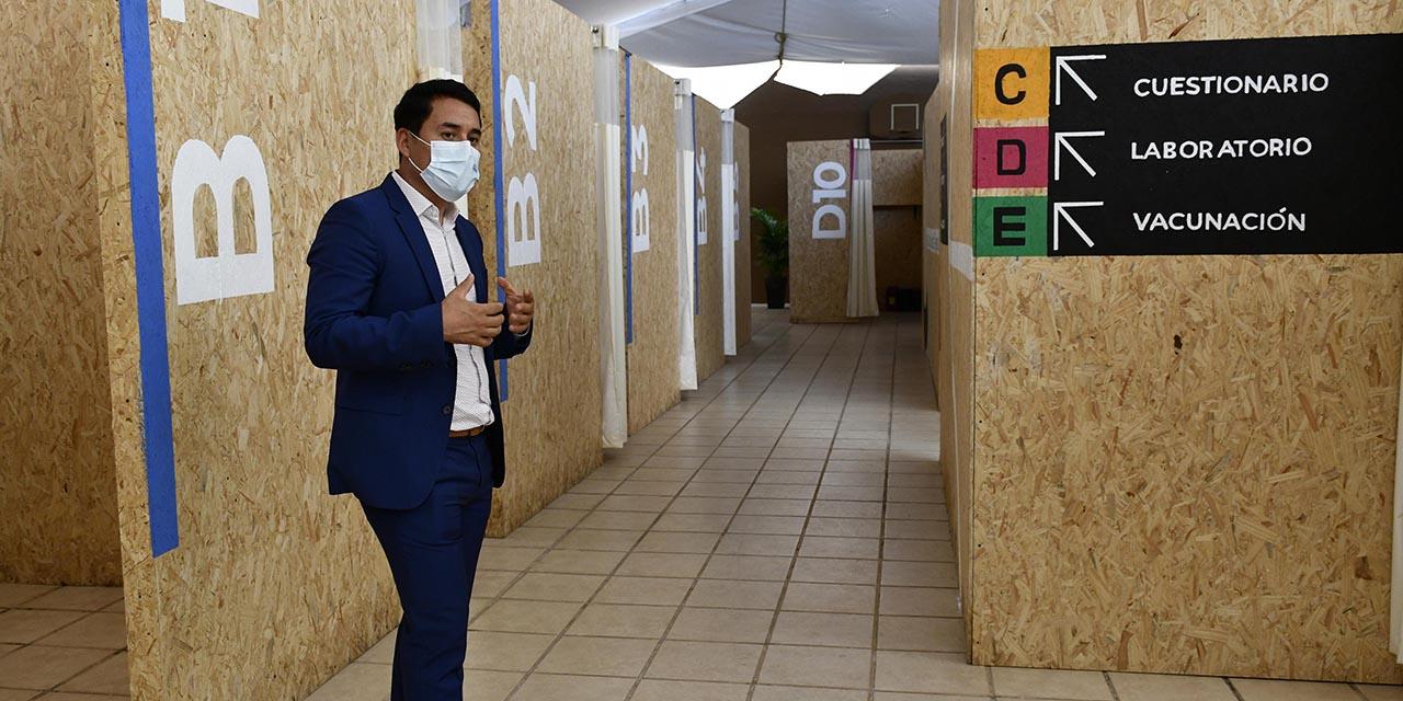 Aplicarán mil dosis de vacuna contra Covid-19 en Oaxaca