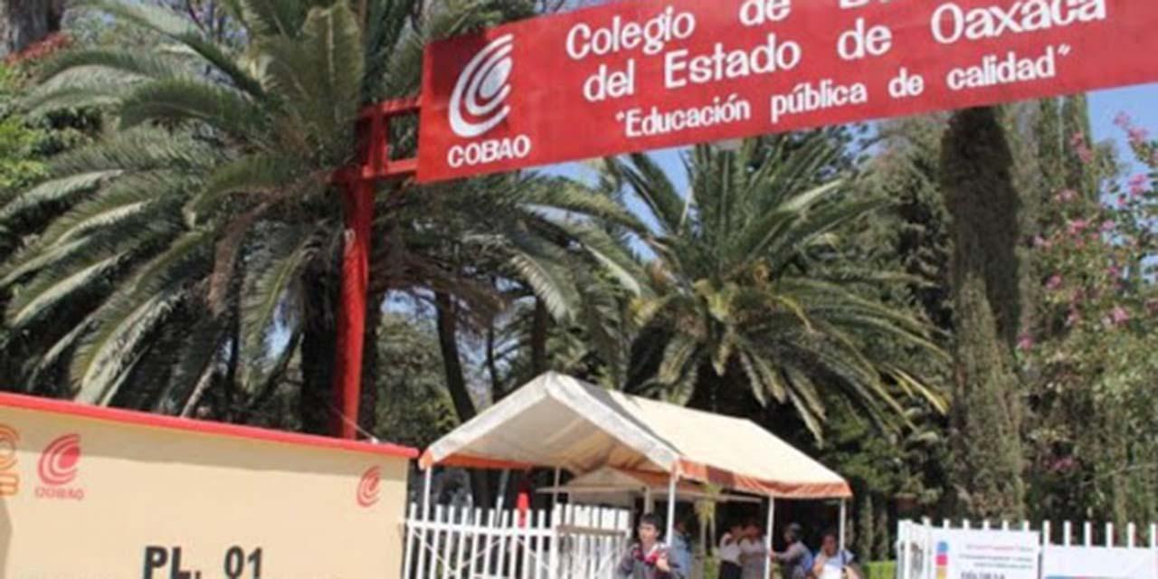 Maestros del Cobao siguen de vacaciones | El Imparcial de Oaxaca