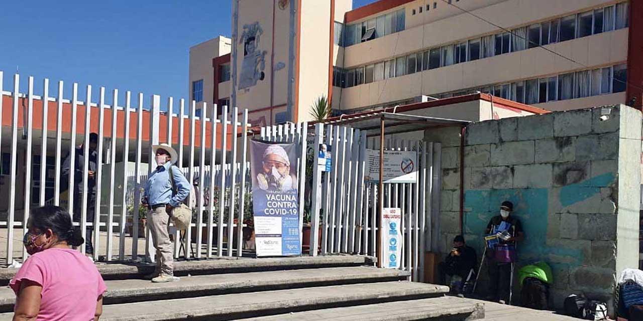 Realizan paro parcial en clínicas y hospitales de Oaxaca