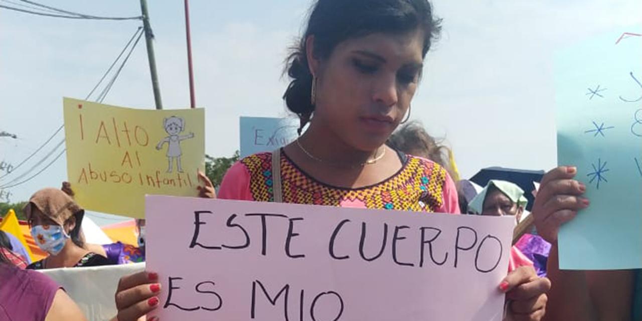 Marchan contra la violencia a mujeres y niñas en el Istmo