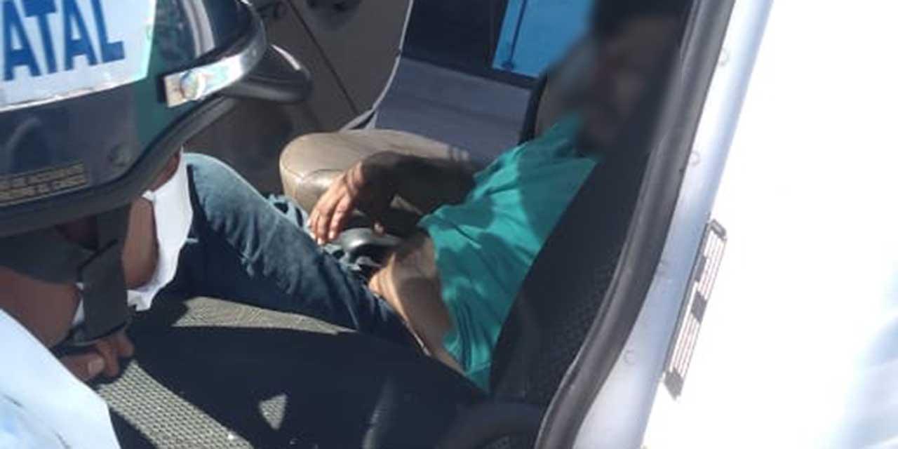 Lesionado en intento de asalto en carretera 190