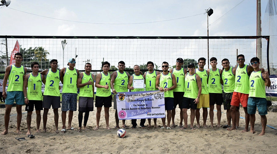 "Regresa el Torneo Nacional de voleibol de playa ""King Of The Beach"" 