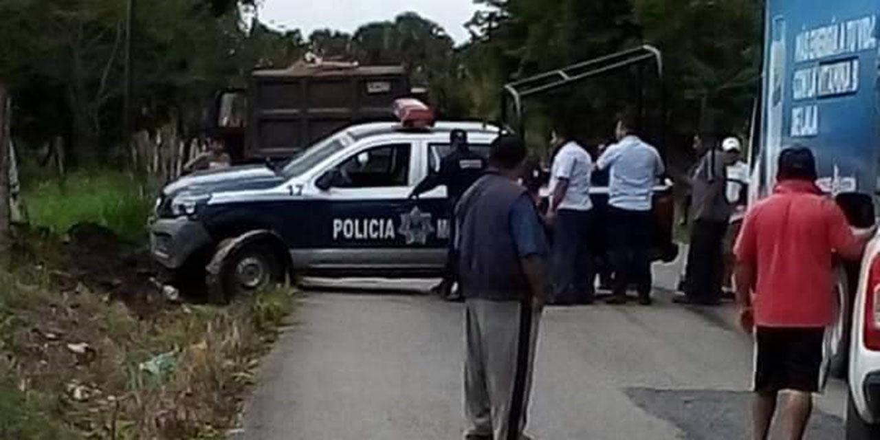 Vuelca patrulla en Guichicovi   El Imparcial de Oaxaca