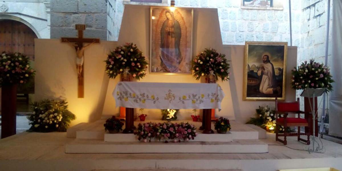 Cancelan visitas a Santuario de Guadalupe durante celebración en la capital oaxaqueña