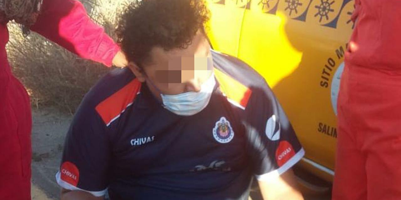Aparatoso choque en Salina Cruz deja un lesionado