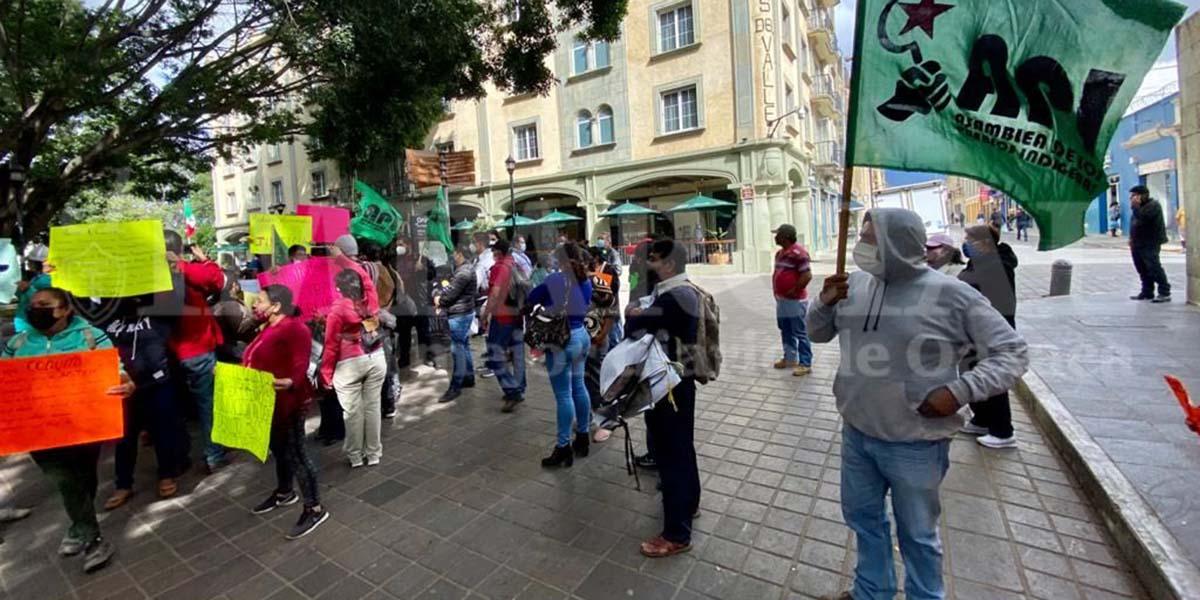 Comuneros desalojados de Xoxocotlán demandan justicia