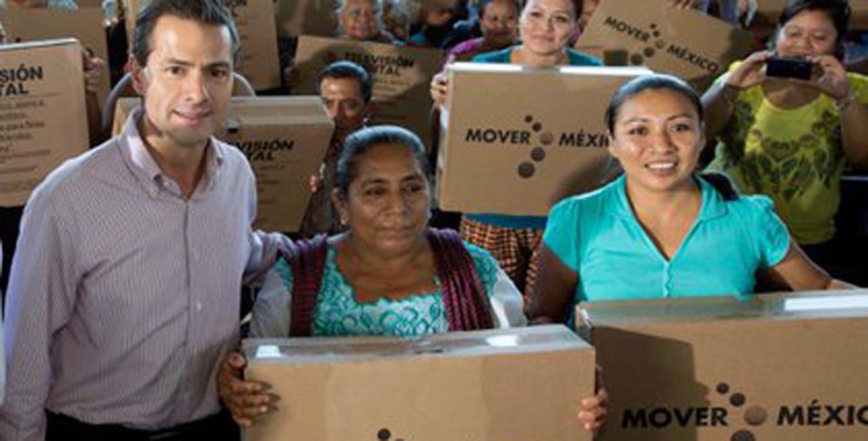 Venden televisiones regaladas por Peña Nieto en internet | El Imparcial de Oaxaca