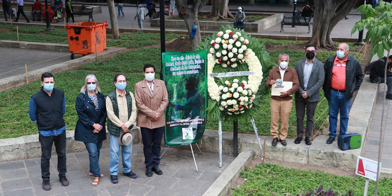Reconocen a activista de Oaxaca con presea Francisco Verástegui