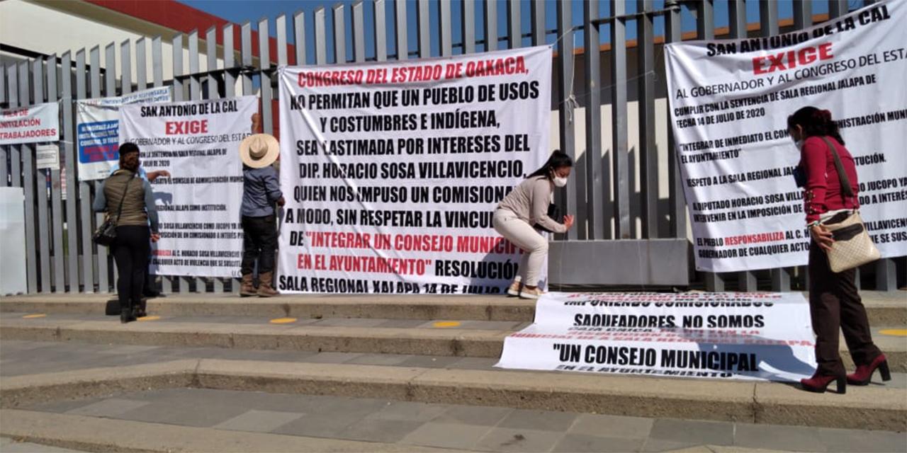 Acusan a Horacio Sosa de desestabilizar San Antonio de la Cal