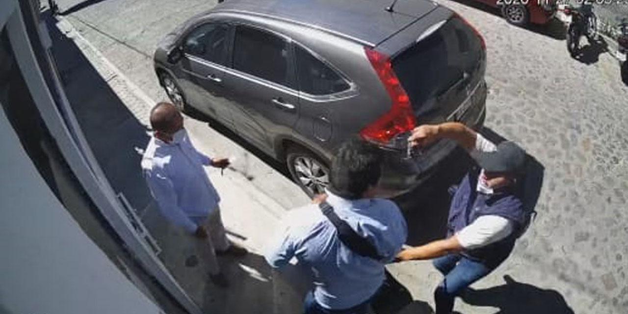 Asalto violento y balacera en San Felipe del Agua