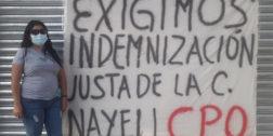 Se manifiestan por despido de empleada en Ixtepec
