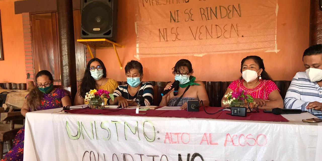 Organizaciones respaldan a catedráticas de la UNISTMO | El Imparcial de Oaxaca