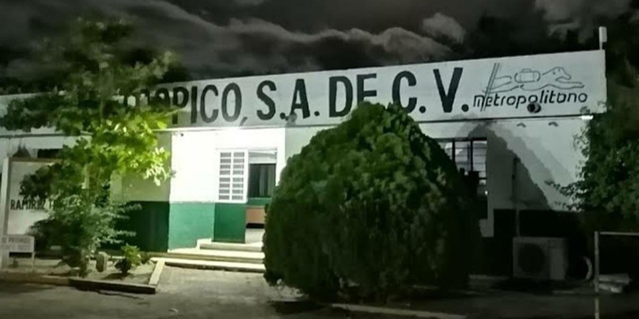 Intento de robo en gasera de Tehuantepec   El Imparcial de Oaxaca